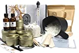 Luxury Candle Making Kit - Complete Supplies to Create 6 Premium Scented Soy Candles