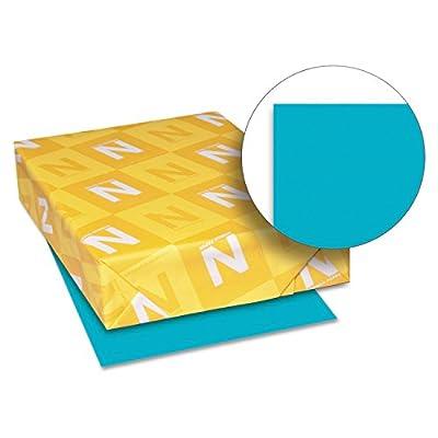 Neenah Paper 21849 Color Paper, 24lb, 8 1/2 x 11, Terrestrial Teal, 500 Sheets