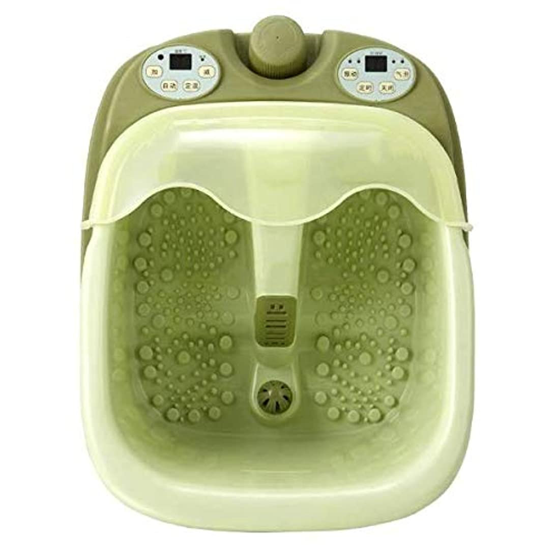 告白する退院百スプリットフットバス電気マッサージ暖房フォームフットバケツ自動家庭用発泡盆地ペディキュアバスフット
