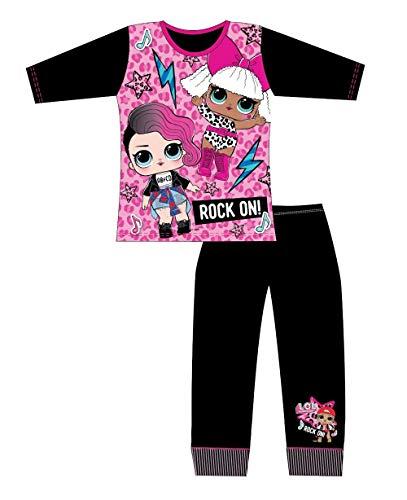 LOL Surprise! Pyjama für Mädchen, 4-5 Jahre, Schwarz
