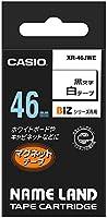 カシオ ラベルライター ネームランド マグネットテープ 46mm XR-46JWE 白