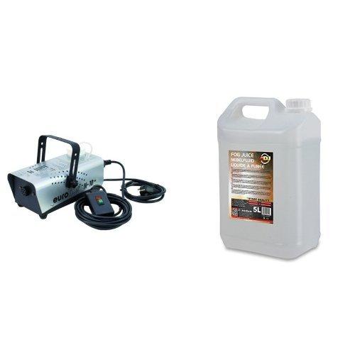 EUROLITE N-10, mit ON/OFF Controller + ADJ 5L Medium Nebelflüssigkeit Bundle