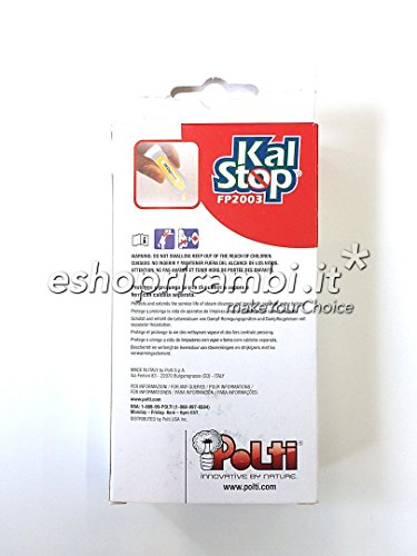NEW! POLTI KALSTOP LIMESCALE ANTI SCALE (MABI ITEM-No.GB737) SUITABLE FOR: STEAM GENERATORS - IRONING SYSTEMS - STEAM CLEANERS - VACUUMS by Polti