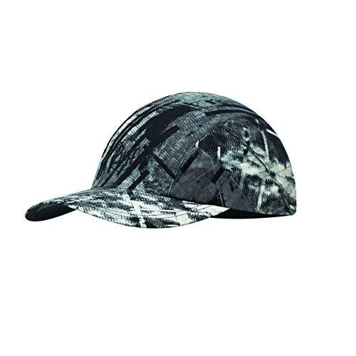 Buff Erwachsene Pro Patterned Run Cap, R-City Grey, Einheitsgröße