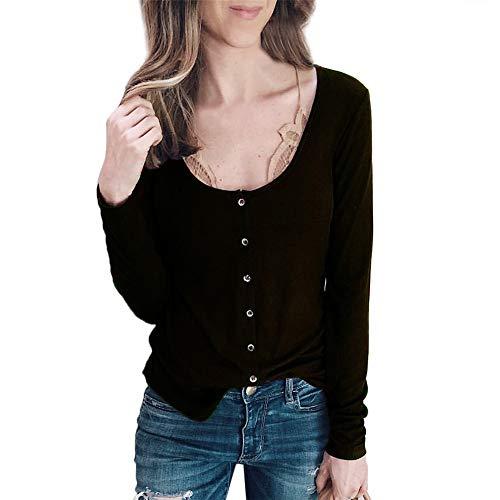 Dames pullover Sexy Dasongff effen sweatershirts diepe V-hals Solid lange mouwen vrouwen herfst tuniek tops elegant shirt met lange mouwen zwart groen paars bruin