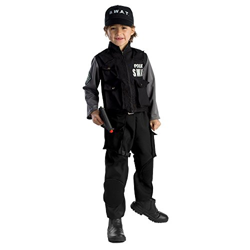 Dress Up America Disfraz de SWAT Jr. para niño