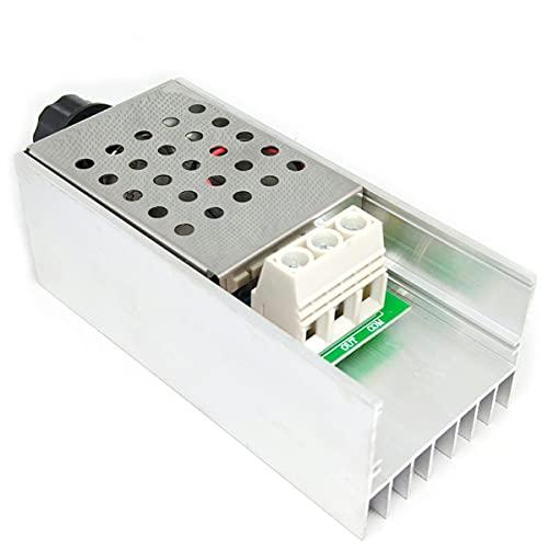 Nihlsen 10000 W SCR Regulador de Voltaje Regulador LED Regulador de Velocidad Controlador Termostato Dimer 220 V Fuente de Alimentación