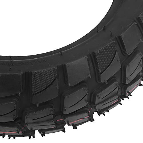 Zhjvihx Neumático, neumático de Goma Cómodo de 10 Pulgadas con Tubo Interior para Scooter