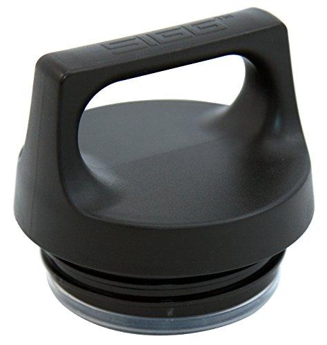 SIGG Hot & Cold Top Verschluss Food Jar, Aluminium, Schwarz, 0.3 l / 0.5 L