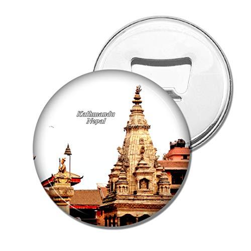 Weekino Bhaktapur Durbar Square Kathmandu Nepal Bier Flaschenöffner Kühlschrank Magnet Metall Souvenir Reise Gift