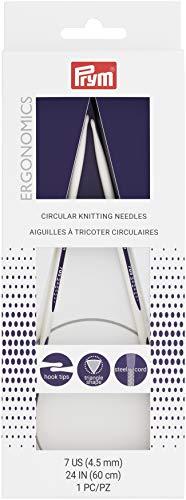 Prym Circular Needle 24', Size 7/4.5mm
