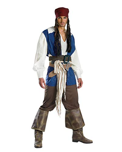 Horror-Shop Capitaine Jack Sparrow Costume XL