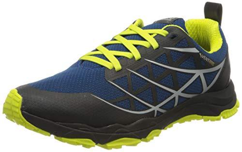 Jack Wolfskin Herren Trail Blaze Vent Low M Cross-Trainer, Blau (Blue/Lime 1176), 41 EU