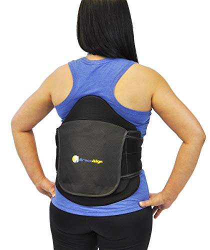 VertebrAlign LSO Lumbar Lower Back Brace LSO0648 L0631 Herniated Degrative and Bulging Disc; Fast Pain Relief and Recovery Support for Chronic to Acute Back Pain Sciatic Spine Stenosis by Brace Align