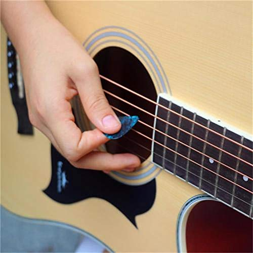 Frida Kahlo - Púas de guitarra acústica (ABS, 6 unidades, 3 ...