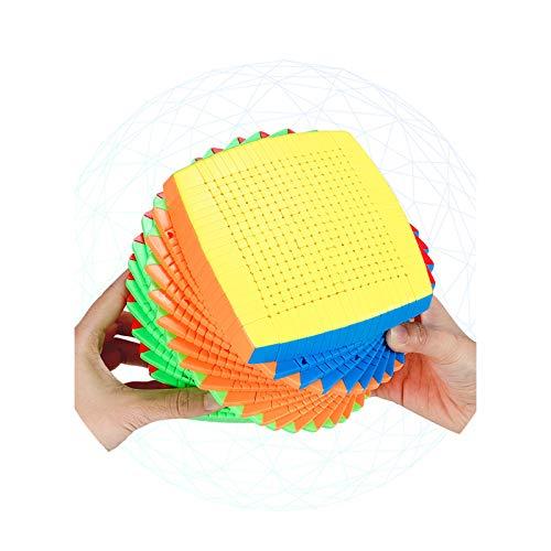 YYBF Infinity Cube Toy, Rompecabezas Cube 3D, Rompecabezas 3D De Alta Dificultad, Este Es Un Desafío Difícil, Cubos Mágicos para Niños Y Adultos Regalo,19×19 Speed Cube