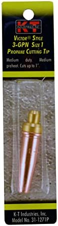 Propane Size 0 K-T Industries 31-1270P 3-GPN Cutting Tip