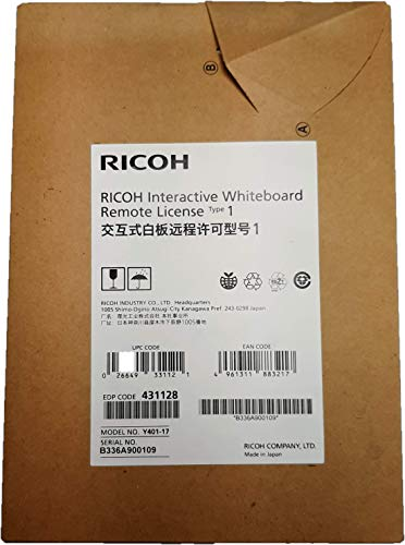 Ricoh Interactive Whiteboard Remote License Type 1