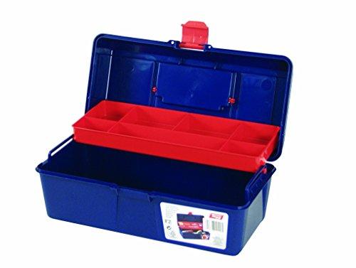 Tayg Caja de herramientas plástico n. 21, Azul, 310 X 160 X 130 mm