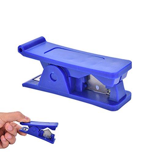 Winwill® Gummi Silikon PVC PU Nylon Tube Kunststoff Rohr Schlauch Cutter Cut Up Schere ITBU