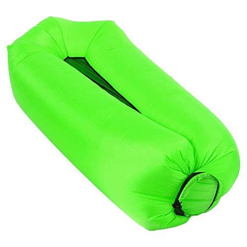 Draagbare luie bank Opvouwbare comfortabele opblaasbare rimpel geruite doek Waterdicht bed buiten