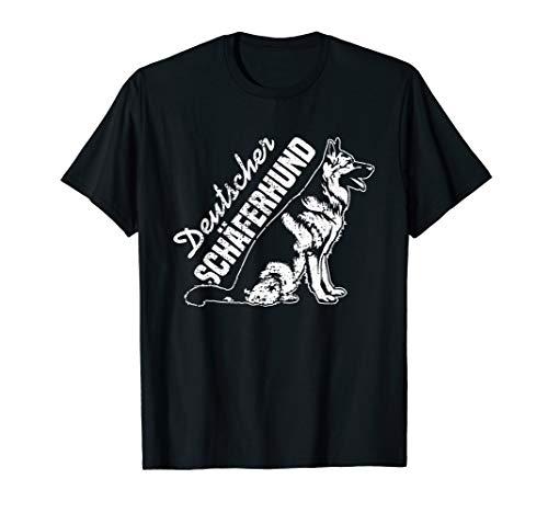 Deutscher Schäferhund Spruch Schäferhunde Geschenk Motiv T-Shirt