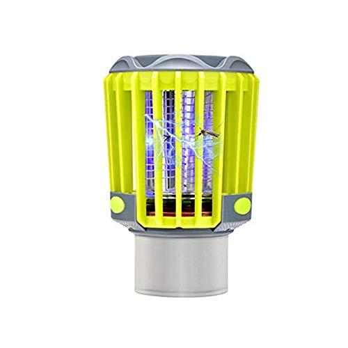 Lampe Anti-Moustique,éLectrique Tueur De Moustique avec LumièRe UV,Lutte Contre Les Insectes,ÉTanche,Chargement USB, pour La Cuisine Domestique Jardin Utilisation IntéRieure/ExtéRieure