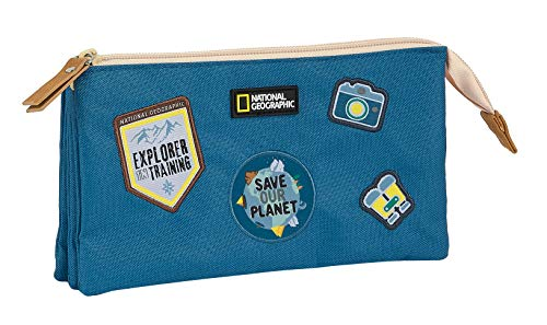 Portatodo Triple Reciclable National Geographic Explorer, 220x30x120mm
