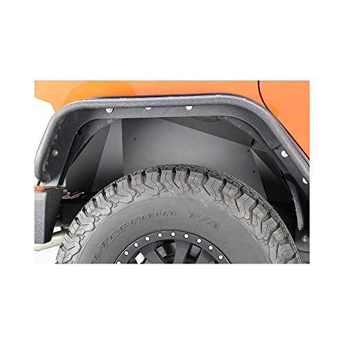 Fishbone Offroad FB33007R Jeep Rear Inner Fenders 07-18 Wrangler JK Aluminum Black Powercoat