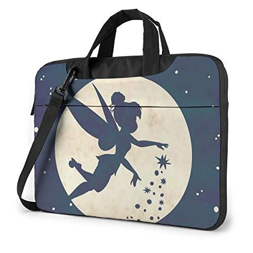 15.6 Inch Laptop Bag Tinkerbell Laptop Briefcase Shoulder Messenger Bag Case Sleeve