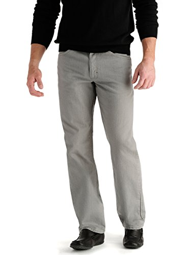 LEE Men's Regular Fit Straight Leg Jeans - Battleship, Battleship, 33X30