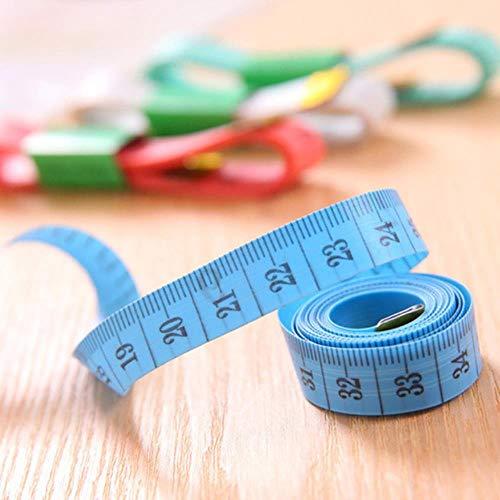 Coner Body Meetliniaal Naaien Kleermaker Meetlint Mini Soft Flat Ruler Centimeter Meter Naaien Meetlint Houtbewerking, Donkergrijs