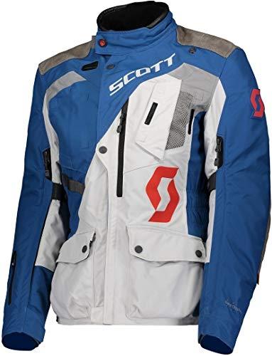 Scott Dualraid Dryo Damen Motorrad Jacke grau/blau 2020: Größe: XXL (44/46)