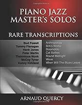 Piano Jazz Master's Solos Rare Transcriptions