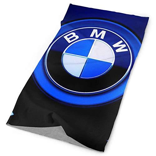 WH-CLA Calentador De Cuello B-M-W M Sports Car Series Power Logo UV Impreso Bufanda Viento Polvo Prueba Sombreros Customed Pasamontañas para Hombre Mujer,Pesca,Yoga