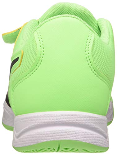 PUMA Unisex Kids Auriz V Jr Football Shoe, Elektro Green-Puma Black-Puma White, 12 UK