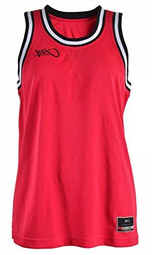 K1X WMNS Hardwood Ladies Double x Jersey rot/weiß