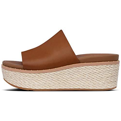 Sandalias de Plataforma de Mujer FitFlop con Tira de Piel