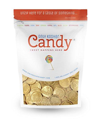 Bulk Kosher Nut Free Dairy Hanukkah Gelt Coins - 165 ct.…