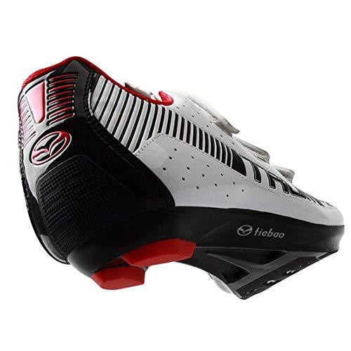 FACAI Zapatillas De Bicicleta De Carretera Transpirables para Hombre Pedales Zapatillas De...
