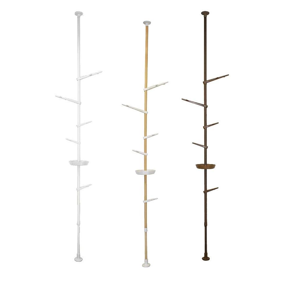 伴う有益ぬれたDAIM オリジナル 突っ張り棒 インテリアポール Tomarigi トマリギ (ホワイト)
