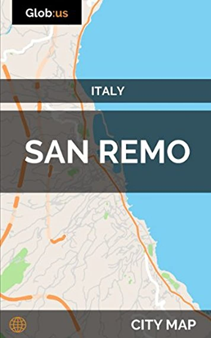 傷つきやすい距離そんなにSan Remo, Italy - City Map