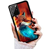 for Samsung S20+, Galaxy S20 Plus, Durable Protective Soft Back Case Phone Cover, HOT12873 Painting Fox