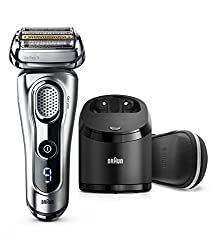 Braun Series 9 9290cc Electric Razor for Men, Rechargeable and Cordless Electric Shaver, Foil Shaver