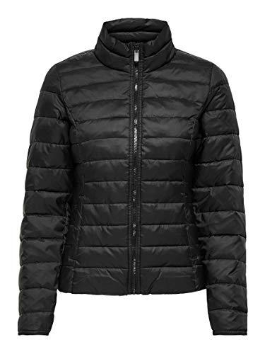 ONLY Damen ONLNEWTAHOE Quilted Jacket CC OTW Jacke, Black, M