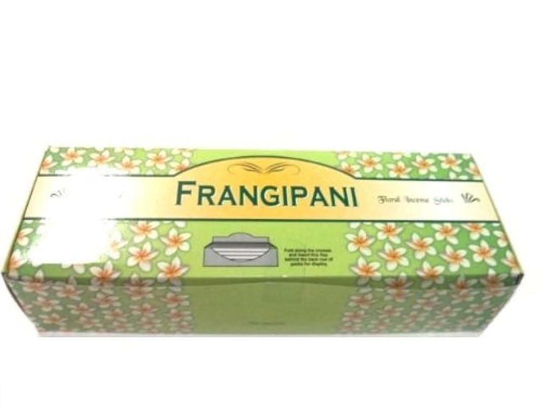 本物色本物Tulasi フランジパニ(FRANGEPANI)香 スティック 6角(20本入り)×6箱 HEXAPACK