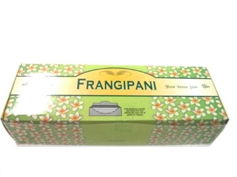 公平な履歴書人間Tulasi フランジパニ(FRANGEPANI)香 スティック 6角(20本入り)×6箱 HEXAPACK