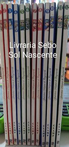 guerreiras mágicas de rayearth 12 volumes completo