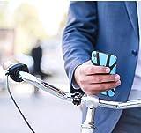 Soporte para teléfono de bicicleta, soporte para teléfono de manillar, rotación de 360°, soporte para teléfono de bicicleta y motocicleta, compatible con la mayoría de teléfonos