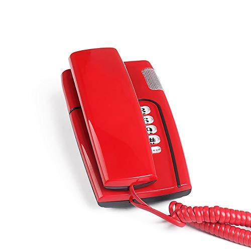 ZXL Retro Telefoon Klein apparaat om op te hangen Home Office Fixed, Wandlamp of op tafel, meerkleurig (kleur: 3)